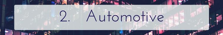 Automotive - Consumer Electronics Trends Linknovate